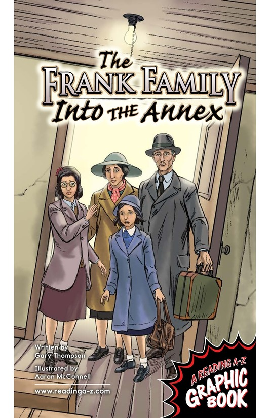 Book Preview For The Frank Family: Into the Annex Page 1