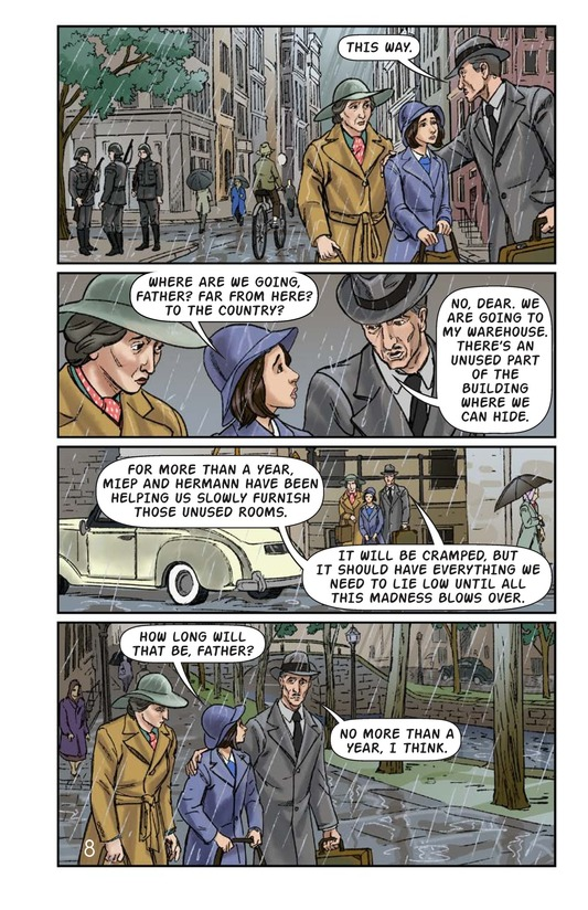 Book Preview For The Frank Family: Into the Annex Page 9
