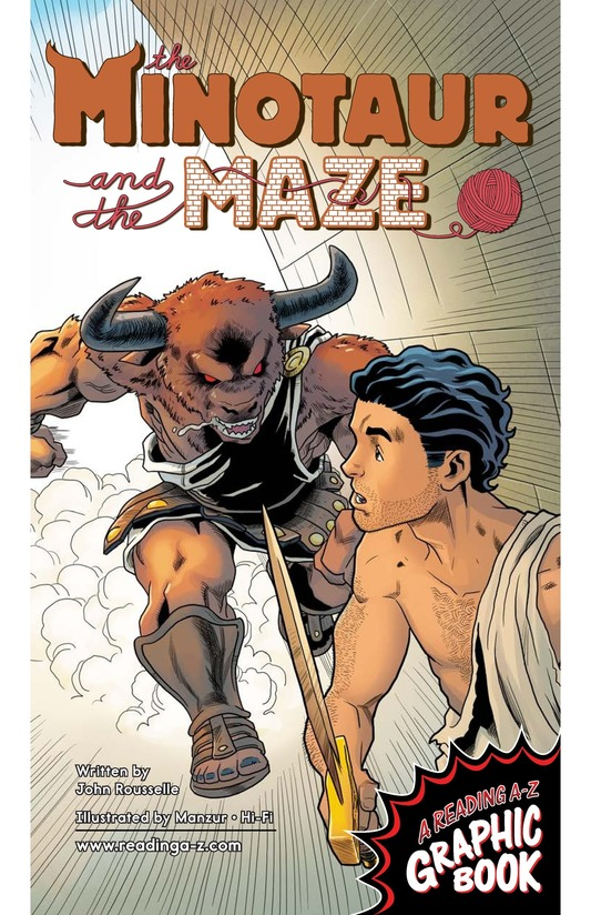 Book Preview For The Minotaur and the Maze Page 1