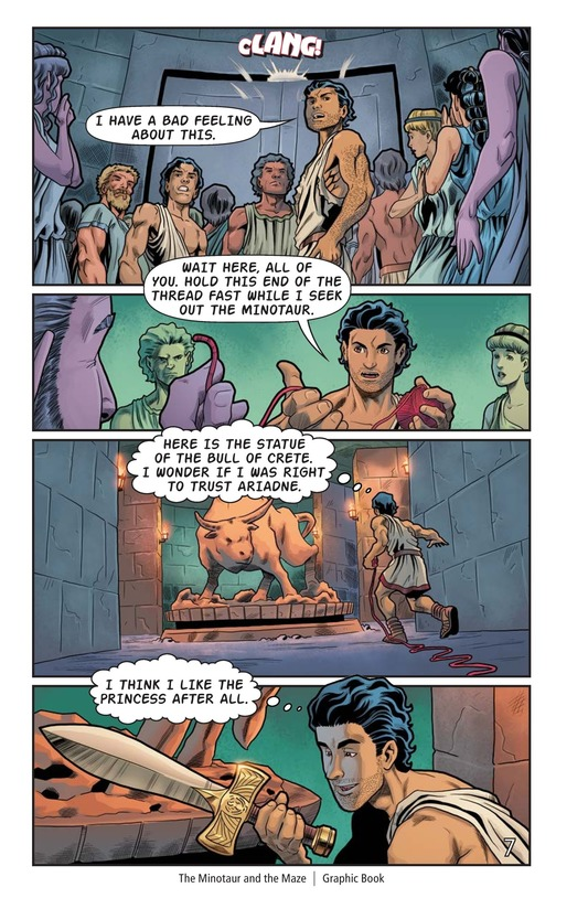 Book Preview For The Minotaur and the Maze Page 8