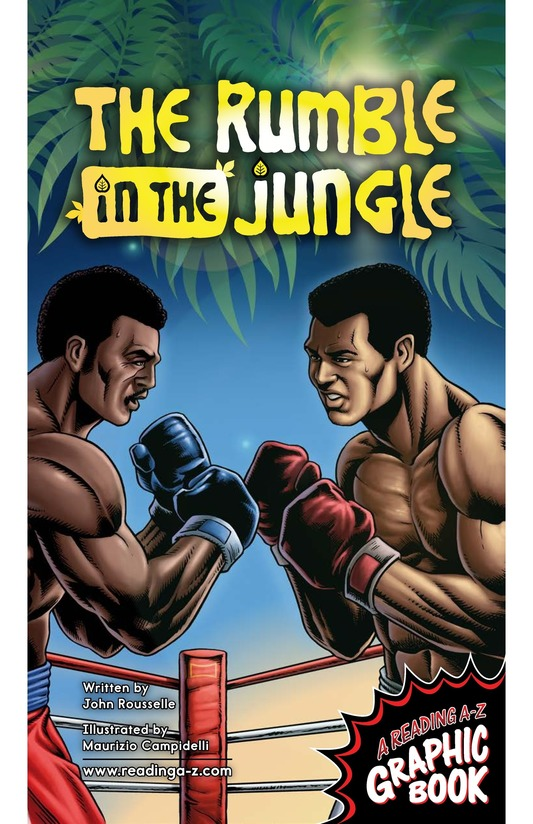 Book Preview For The Rumble in the Jungle Page 1
