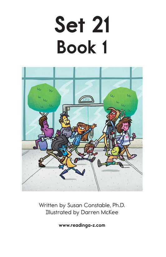 Book Preview For Decodable Passages Set 21 Book 1 Page 2