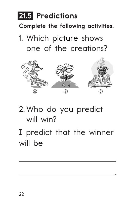 Book Preview For Decodable Passages Set 21 Book 1 Page 22