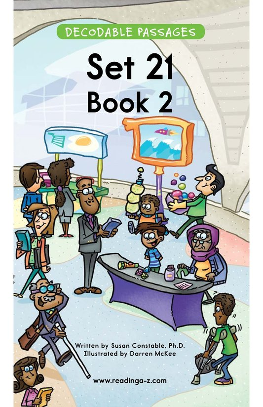 Book Preview For Decodable Passages Set 21 Book 2 Page 1