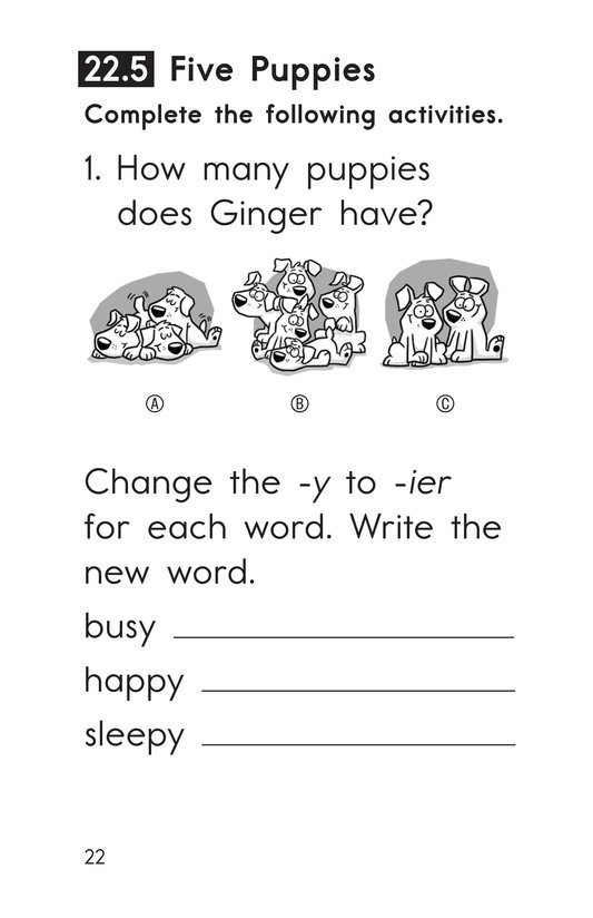 Book Preview For Decodable Passages Set 22 Book 1 Page 22