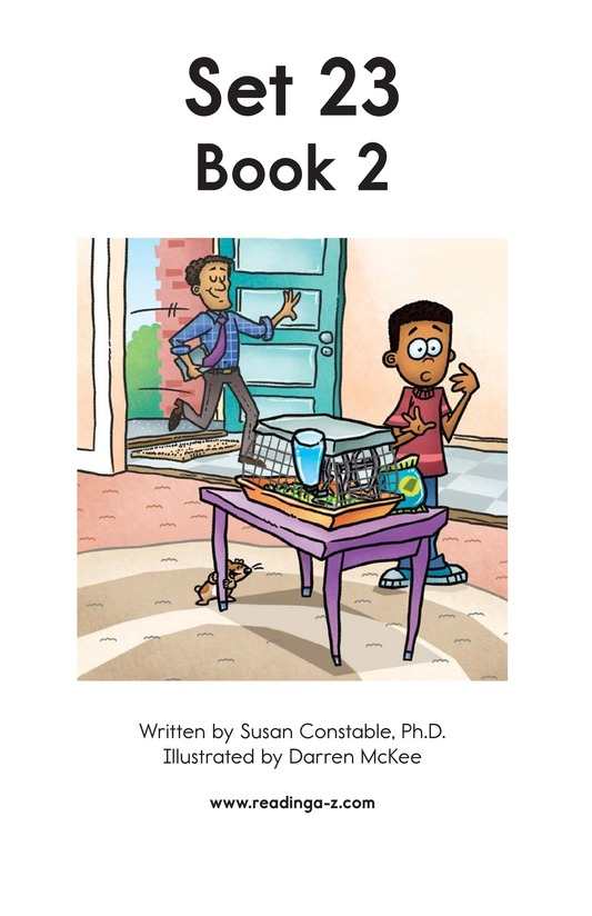 Book Preview For Decodable Passages Set 23 Book 2 Page 2