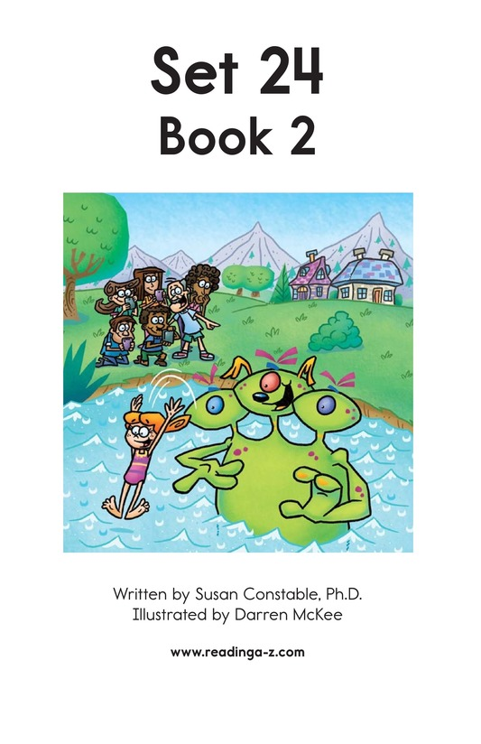 Book Preview For Decodable Passages Set 24 Book 2 Page 2