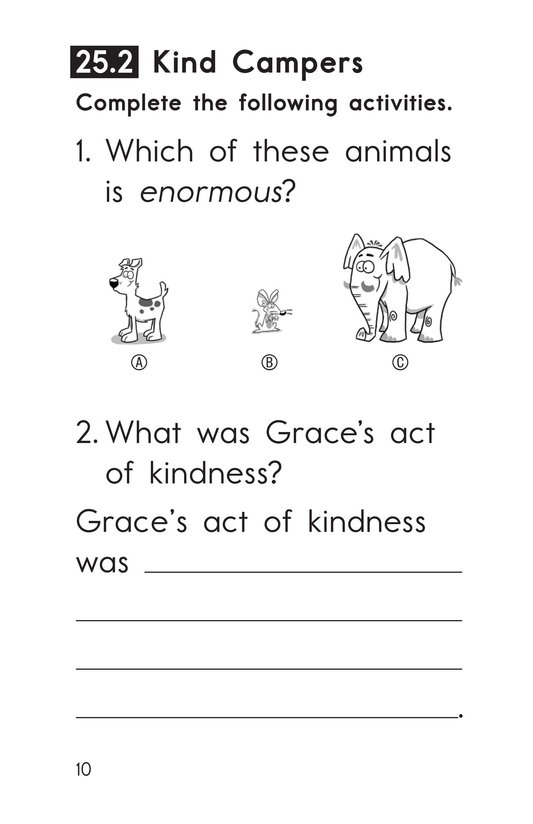 Book Preview For Decodable Passages Set 25 Book 1 Page 10