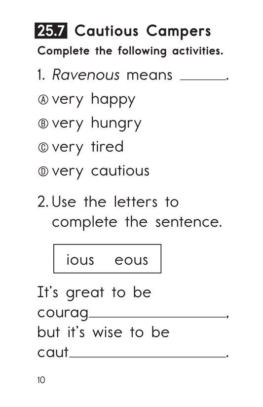 Book Preview For Decodable Passages Set 25 Book 2 Page 10
