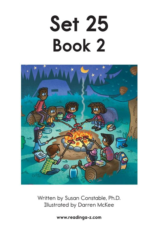 Book Preview For Decodable Passages Set 25 Book 2 Page 2