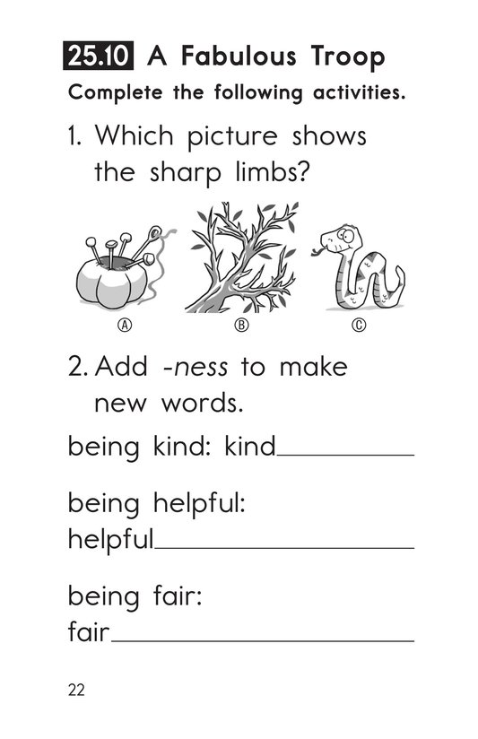 Book Preview For Decodable Passages Set 25 Book 2 Page 22