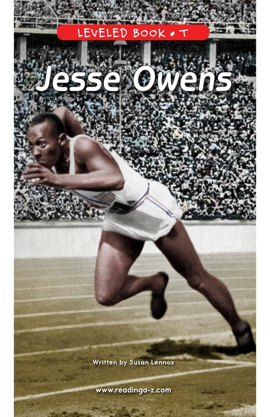 Book Preview For Jesse Owens Page 0