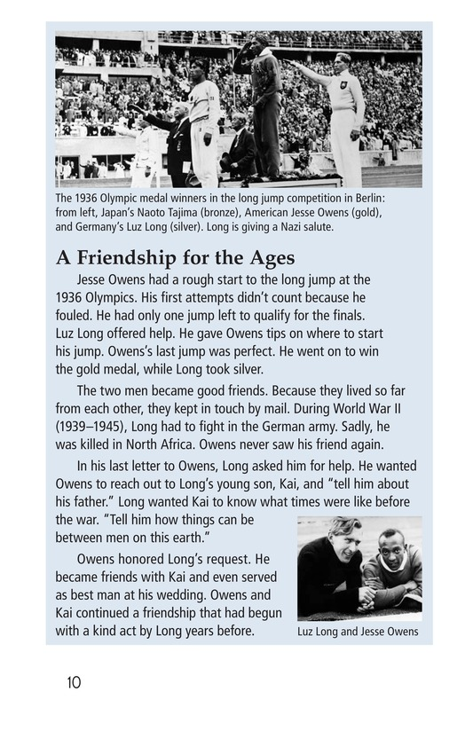 Book Preview For Jesse Owens Page 10