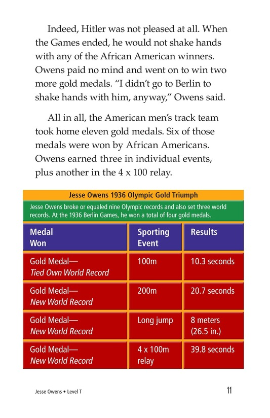 Book Preview For Jesse Owens Page 11