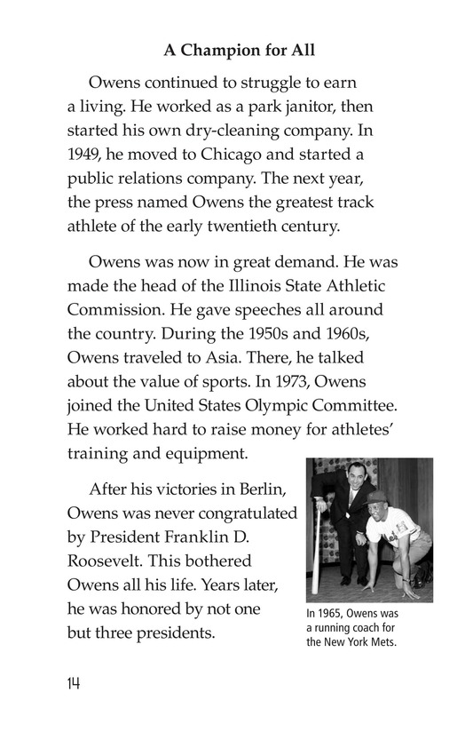 Book Preview For Jesse Owens Page 14