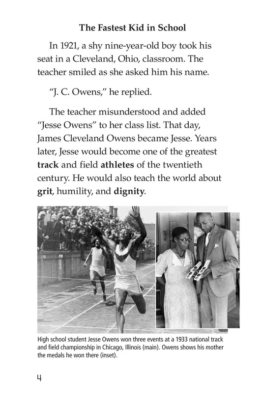 Book Preview For Jesse Owens Page 4