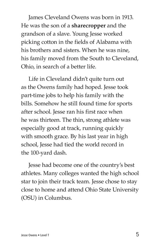 Book Preview For Jesse Owens Page 5