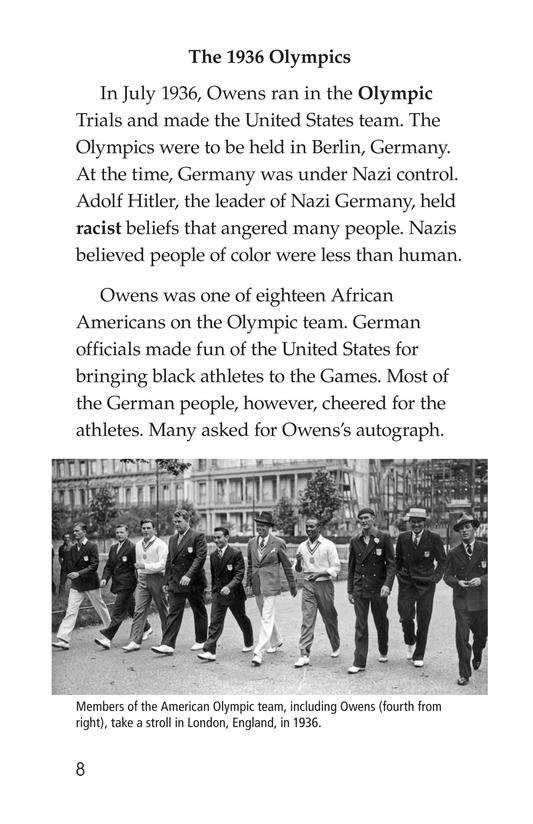Book Preview For Jesse Owens Page 8