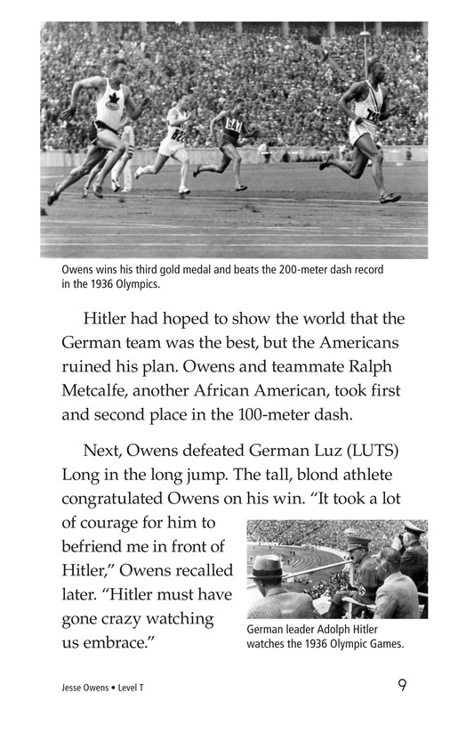Book Preview For Jesse Owens Page 9