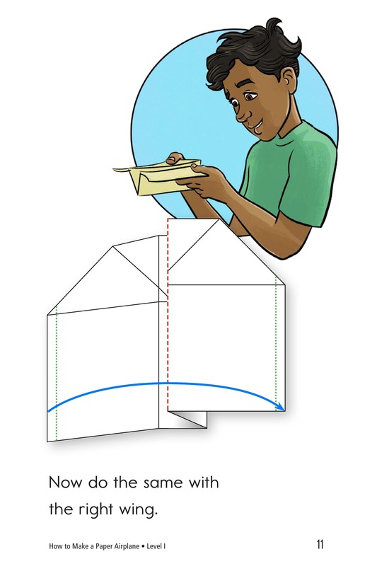 Book Preview For How To Make a Paper Airplane Page 11