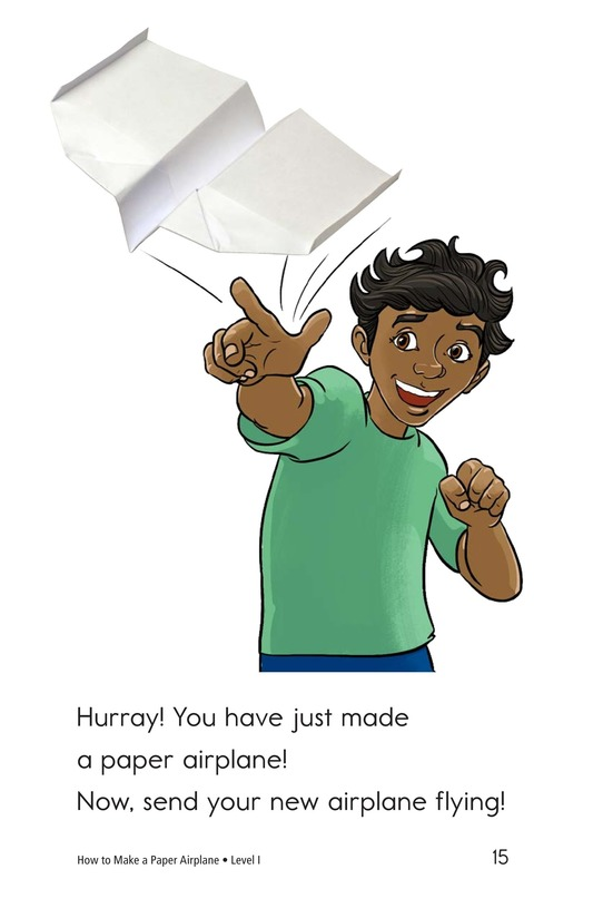 Book Preview For How To Make a Paper Airplane Page 15