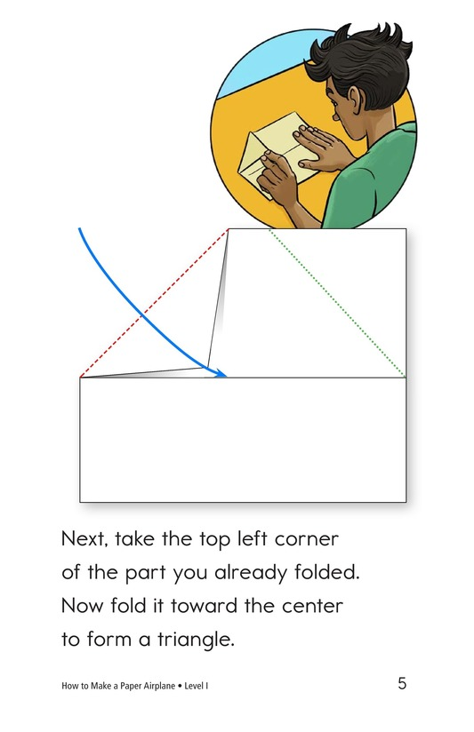 Book Preview For How To Make a Paper Airplane Page 5