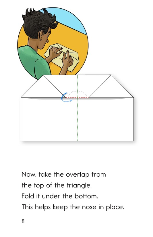 Book Preview For How To Make a Paper Airplane Page 8