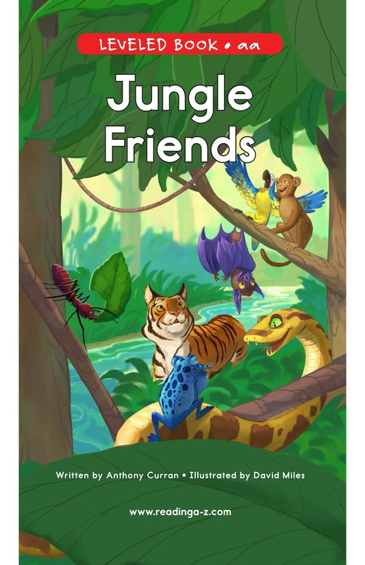Book Preview For Jungle Friends Page 0
