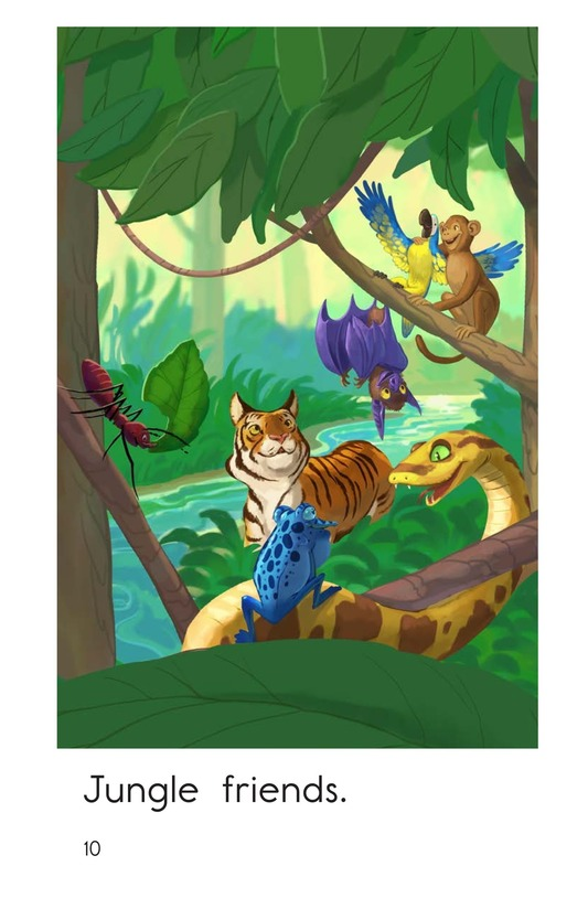 Book Preview For Jungle Friends Page 10