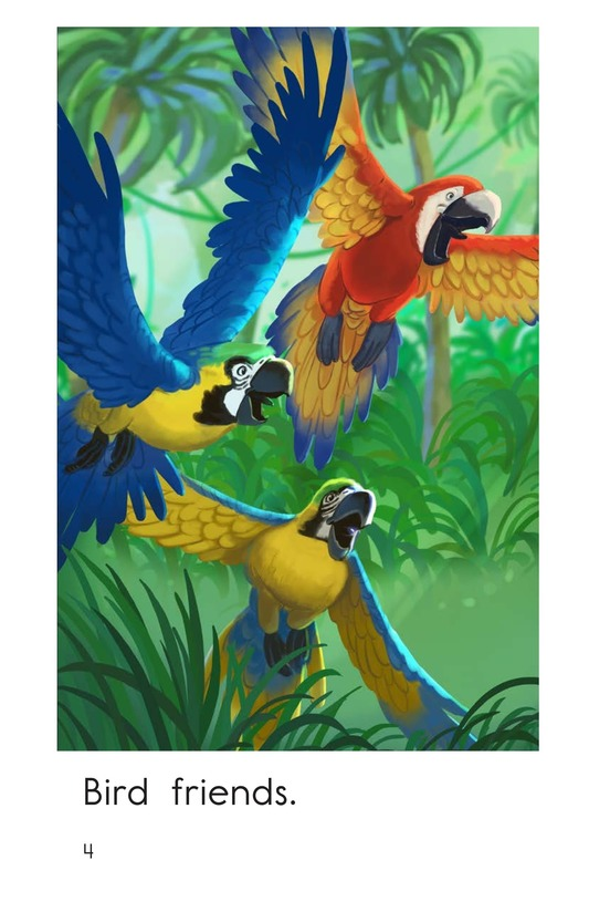 Book Preview For Jungle Friends Page 4