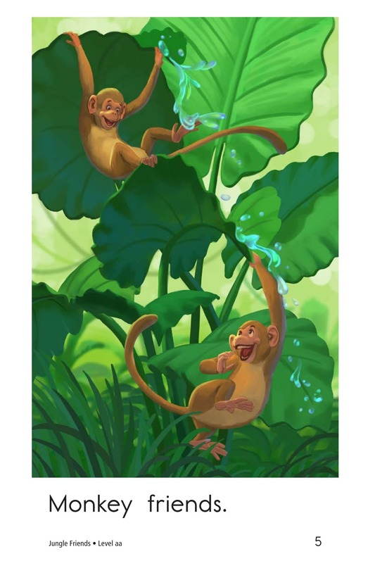 Book Preview For Jungle Friends Page 5