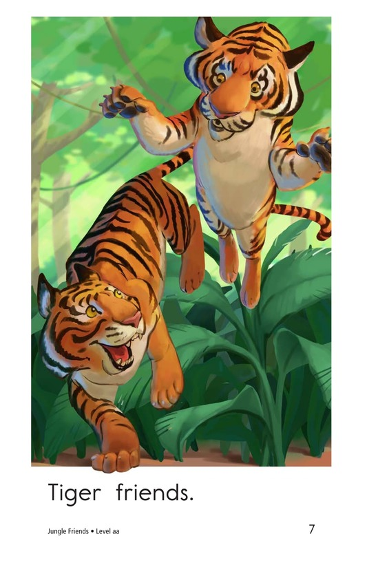 Book Preview For Jungle Friends Page 7