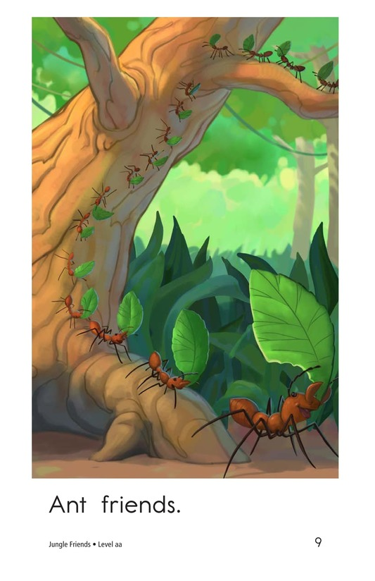 Book Preview For Jungle Friends Page 9