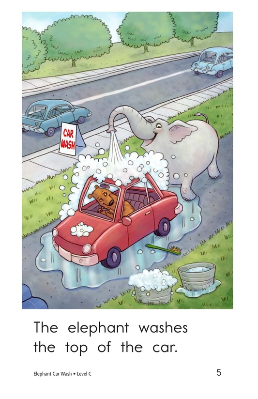 Book Preview For Elephant Car Wash Page 5