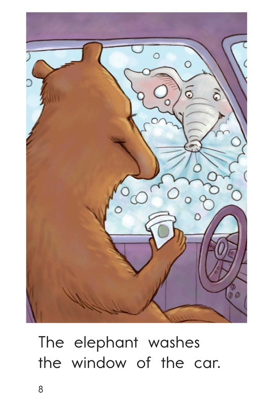Book Preview For Elephant Car Wash Page 8