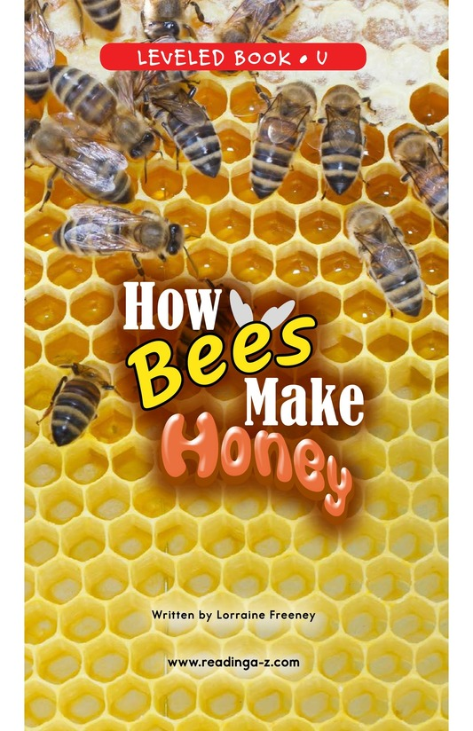 Book Preview For How Bees Make Honey Page 0