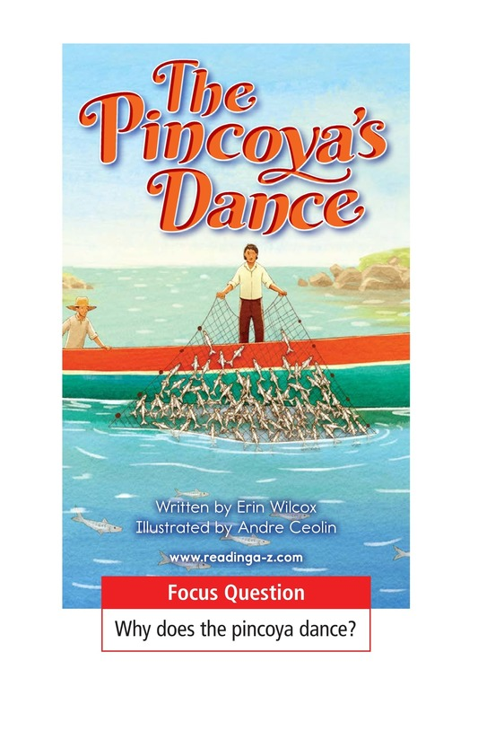 Book Preview For The Pincoya's Dance Page 1