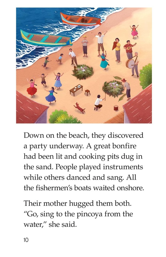 Book Preview For The Pincoya's Dance Page 10