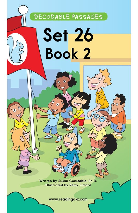 Book Preview For Decodable Passages Set 26 Book 2 Page 1