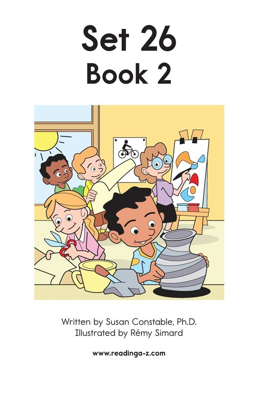 Book Preview For Decodable Passages Set 26 Book 2 Page 2