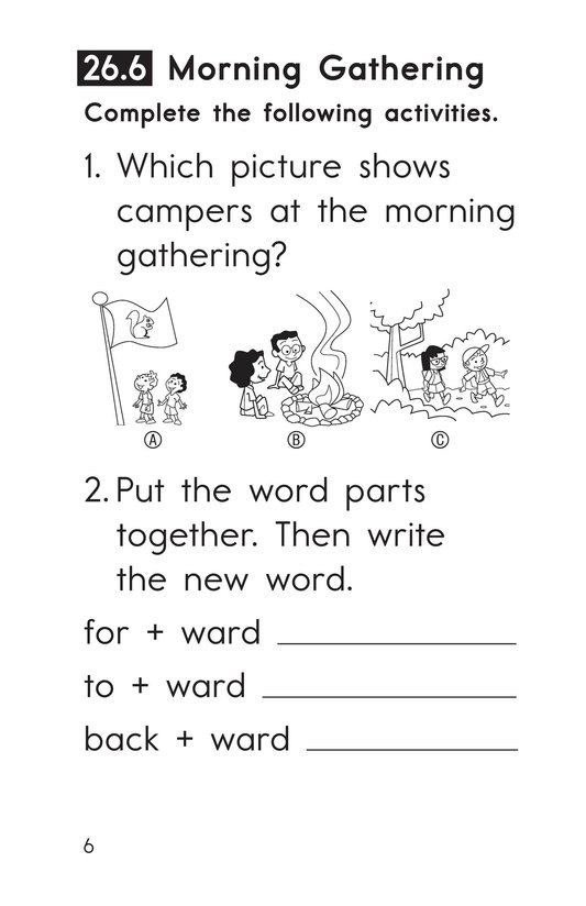 Book Preview For Decodable Passages Set 26 Book 2 Page 6