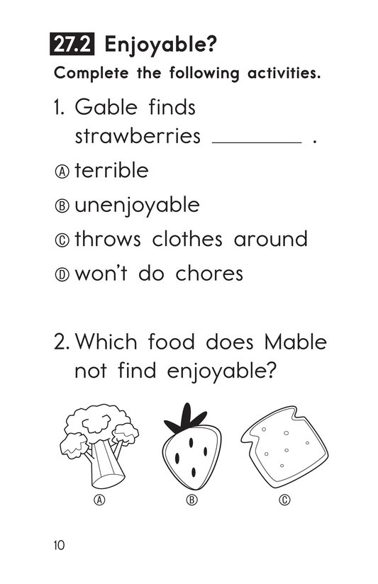 Book Preview For Decodable Passages Set 27 Book 1 Page 10