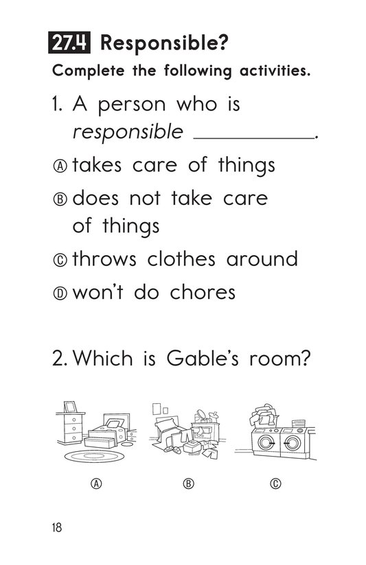 Book Preview For Decodable Passages Set 27 Book 1 Page 18
