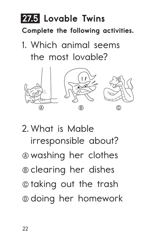 Book Preview For Decodable Passages Set 27 Book 1 Page 22