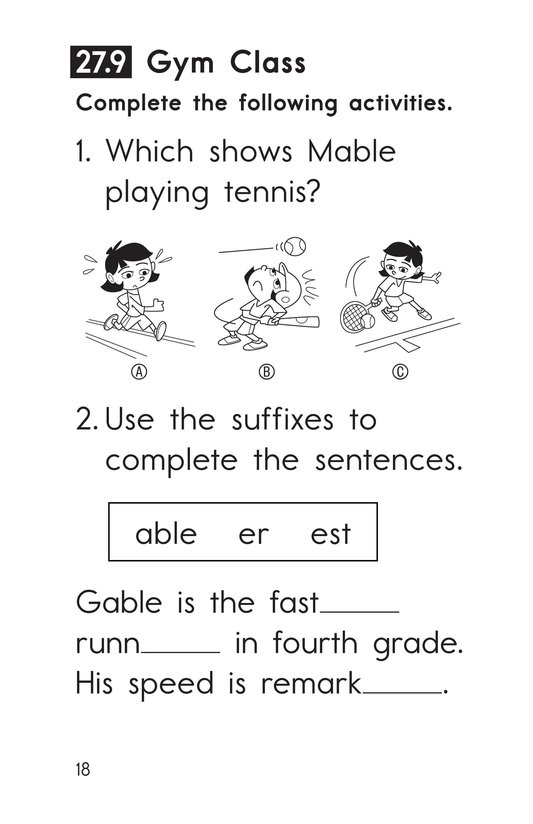 Book Preview For Decodable Passages Set 27 Book 2 Page 18