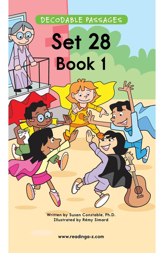Book Preview For Decodable Passages Set 28 Book 1 Page 1