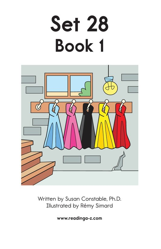 Book Preview For Decodable Passages Set 28 Book 1 Page 2