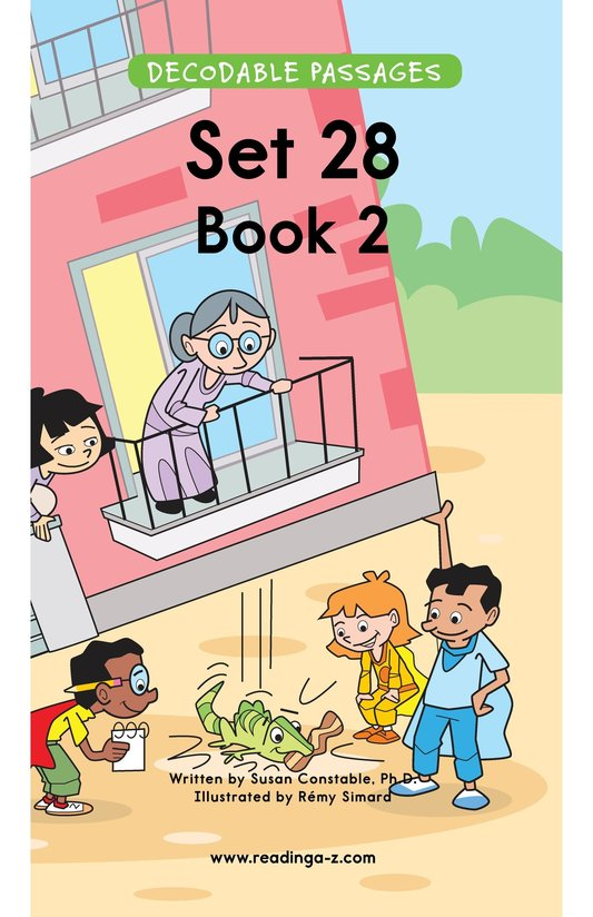 Book Preview For Decodable Passages Set 28 Book 2 Page 1