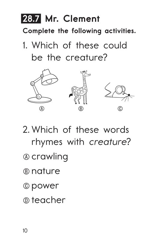 Book Preview For Decodable Passages Set 28 Book 2 Page 10