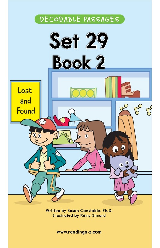 Book Preview For Decodable Passages Set 29 Book 2 Page 1